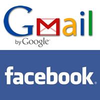 FacebookへGmailアドレスのインポート方法