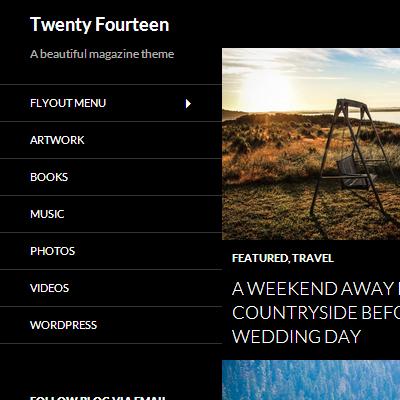 WordPressのデフォルトテーマ「Twenty Fourteen」の子テーマをカスタマイズする時に役立ちそうなCSSセレクタ一覧